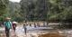 River Crossing, Mount Caburai Expedition