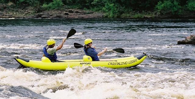 Canoeing - Cristalino Lodge, Alta Floresta