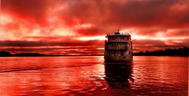 Sunset - Amazon Clipper Cruise