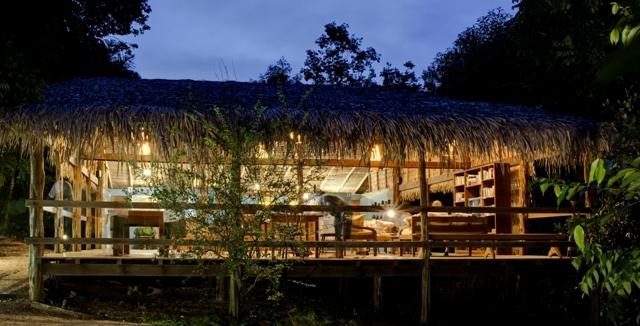 Bar at Anavilhas Jungle Lodge