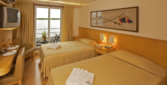 Confortable Cabins - Iberostar Grand Amazon Cruise