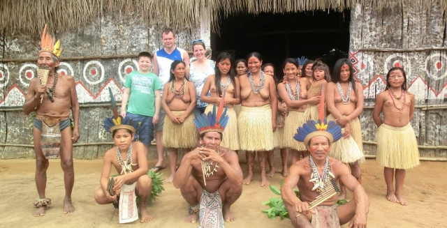 Indigenous Village, Tucan Lodge
