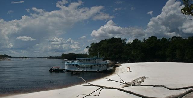 Katerre Amazon Cruise, Praia do Sono, Amazon