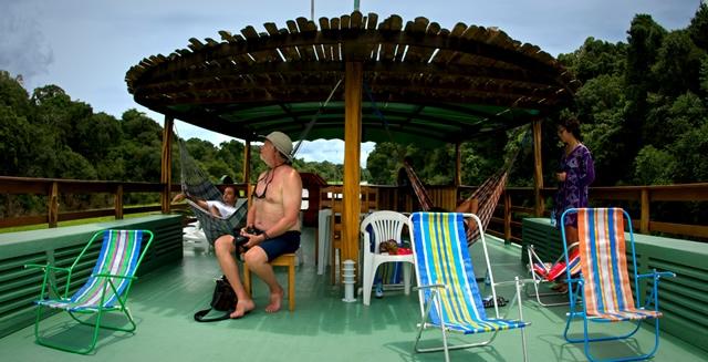 Katerre Amazon River Cruise - Sun Deck