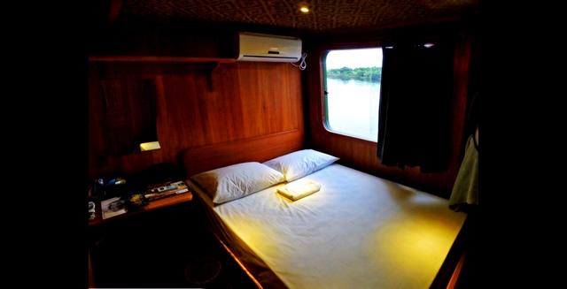 Katerre Amazon Cruise - Double Cabin
