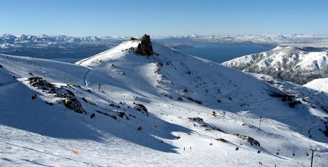 View from Cierro Catedral - Ski Station, Bariloche, Argentina