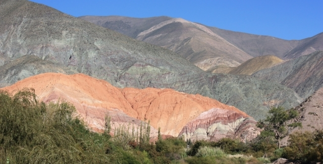 Humahuaca near Salta in Argentina