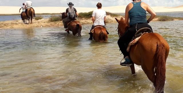 Horse Riding, Atins, Lençois Maranhenses National Park