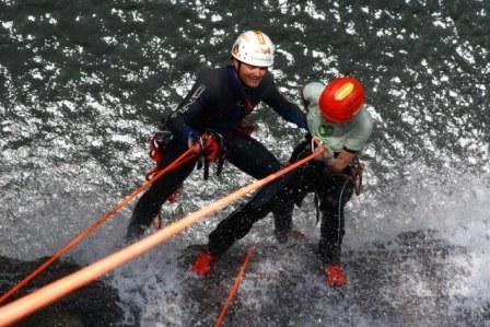 Canyoning in Chapada dos Veadeiros