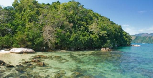 Ilha da Cotia, Costa Verde