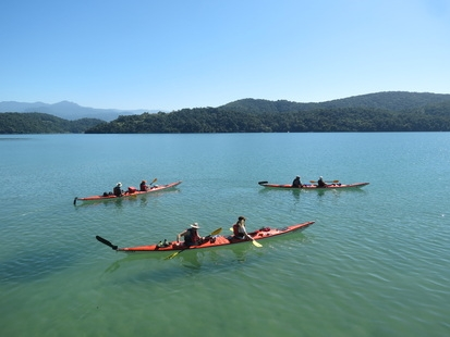Kayaking, Costa Verde