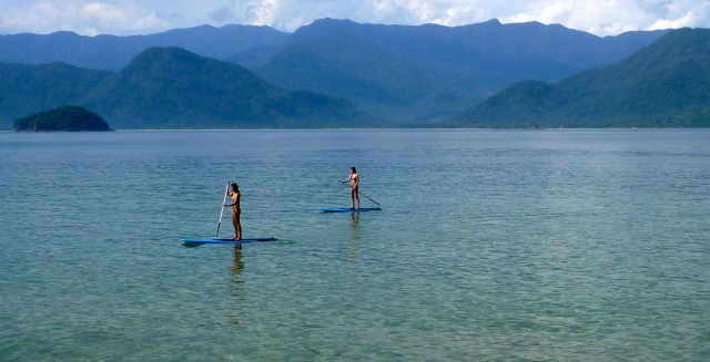 Stand-Up Paddle, Picinguaba Bay