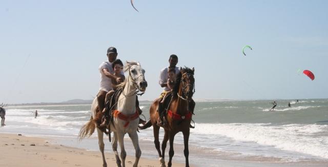 Horses on the Beach, Cumbuco