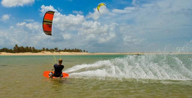Kitesurfer, Cumbuco
