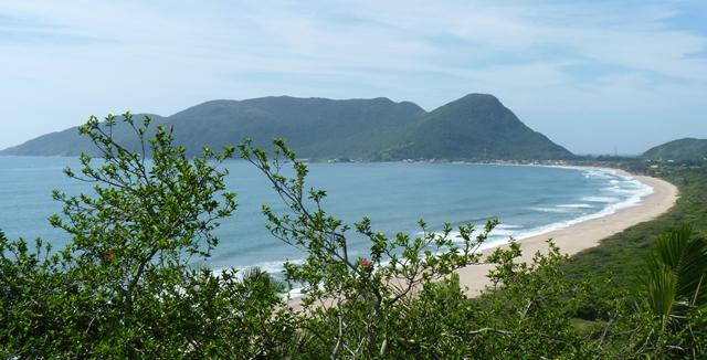 Praia de Armacao in Florianopolis
