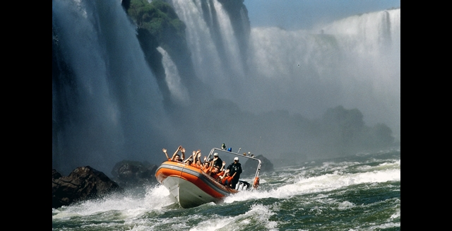 Boat Ride Adventure, Iguazu Falls