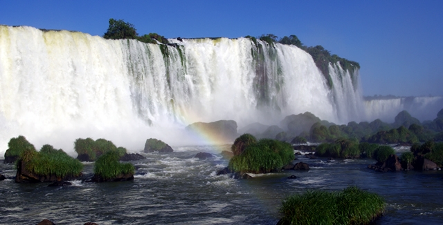 Brazilian Side of Iguazu Falls