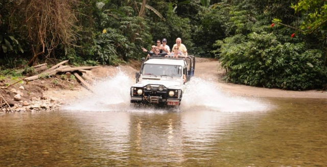 Jeep Tour; Ilhabela