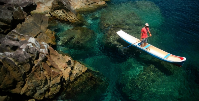Stand-Up Paddle; Ilhabela
