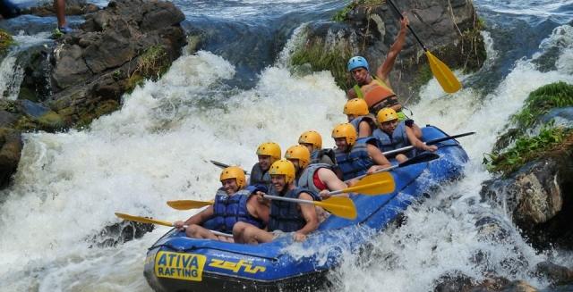 White-Water Rafting, Itacare