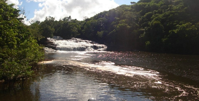Cachoeira do Tremembe, Baia do Camamu, Bahia