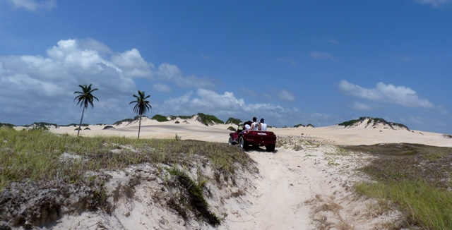 Buggy Tours of the Genipabu Dunes, Natal