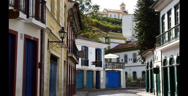 Street of Ouro Preto, Minas Gerais