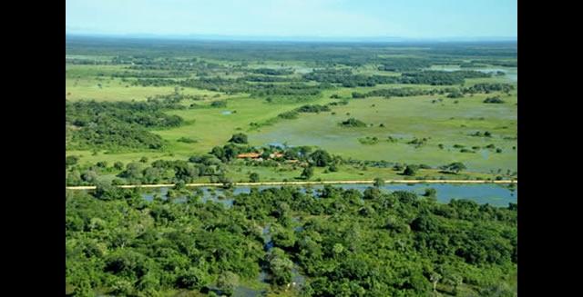Araras Lodge - Aerial View, Pantanal