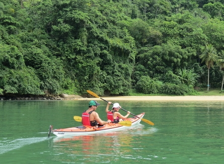 Kayaking in Paraty