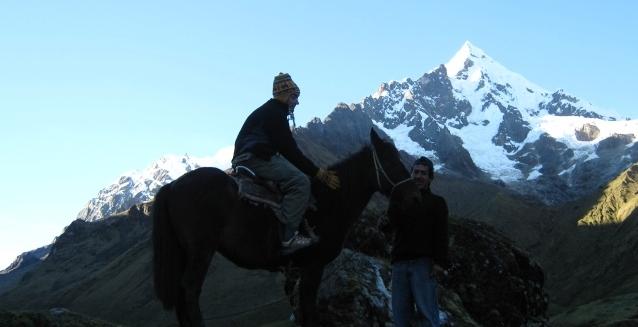 Horse at Sunrise, Salkantay Trail, Peru