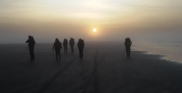 Morning Mist, Lighthouse Trek