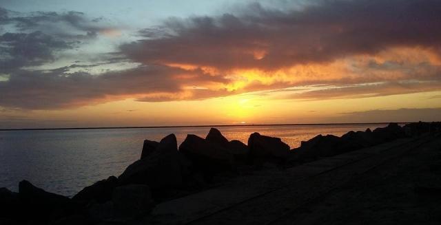 Sunset, Lighthouse Trek