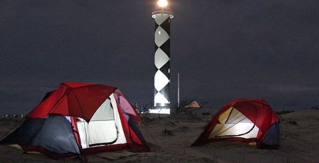 Farol do Albardao Campsite, Lighthouse Trek