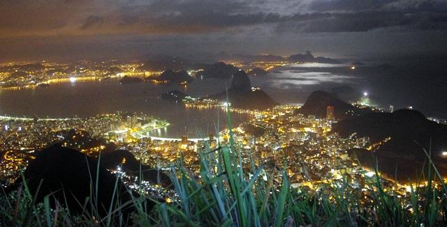 Rio de Janeiro by Night