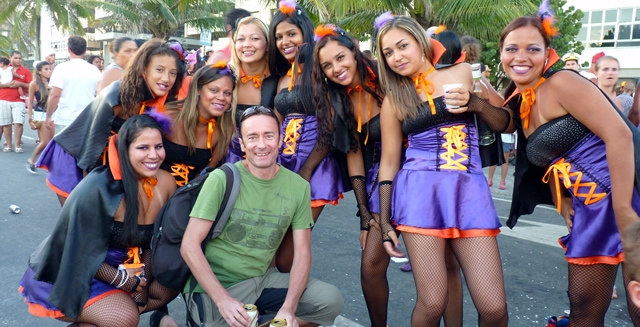 Rio Street Carnaval Girls