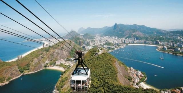 Sugar Loaf Mountain Cable-Car, Rio de Janeiro
