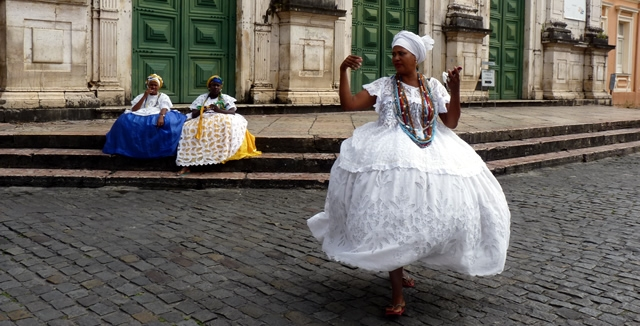 Baianas in Salvador, Bahia