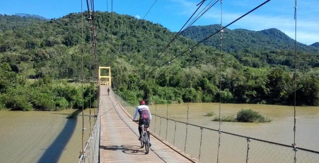 Bridge on the Vale Europeu Cyclotourism Circuit