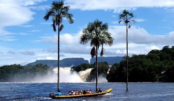 Laguna de Canaima, Angel Falls, Venezuela