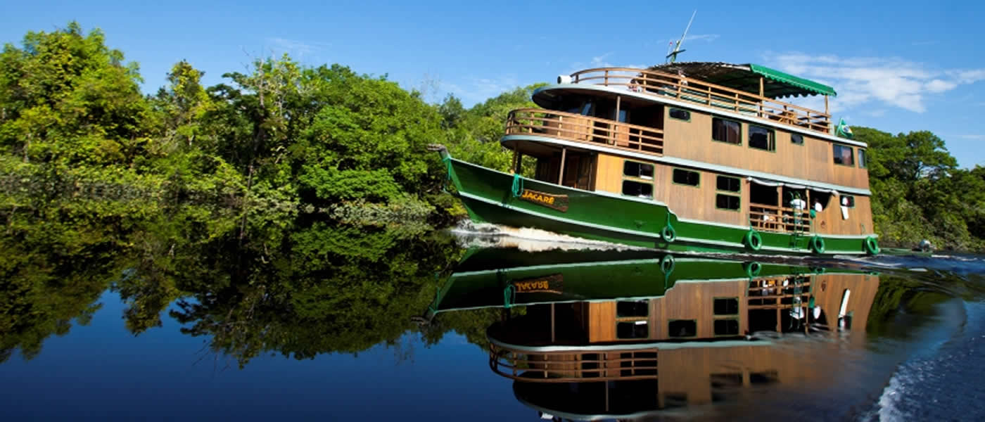 Katerre Amazon Cruise - Jau Route Travel