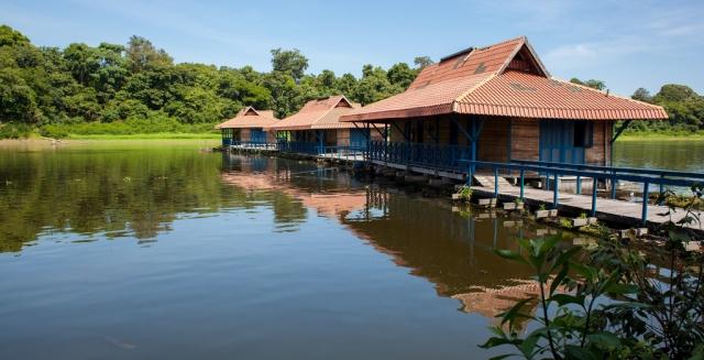 Floating Cabins, Uacari Amazon Lodge