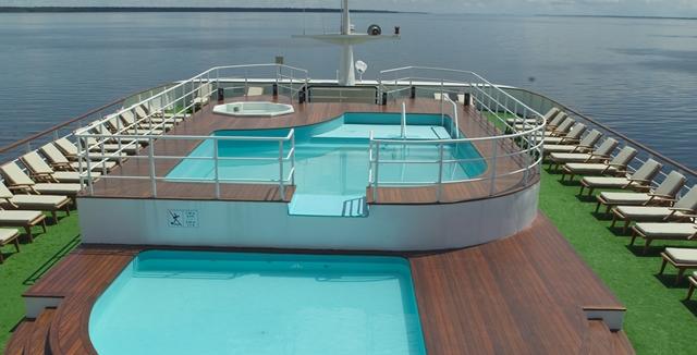 Swimming Pool Area - Iberostar Grand Amazon Cruise
