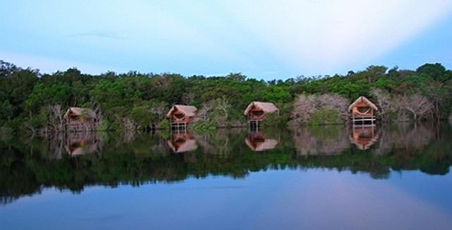 Juma Lodge Dawn