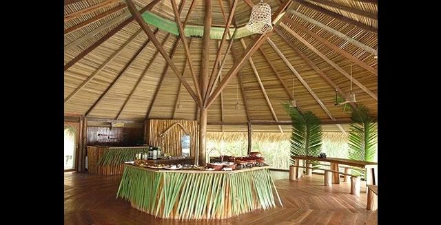 Restaurant, Juma Lodge, Amazon