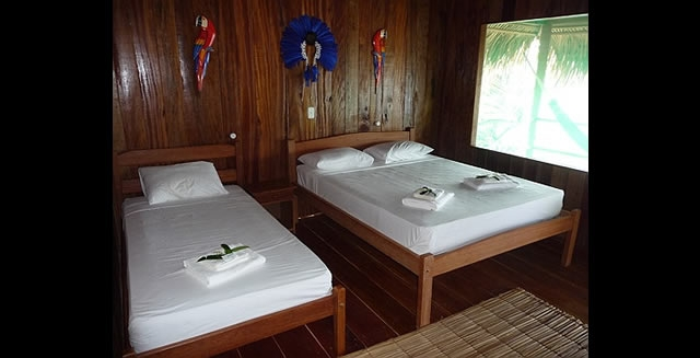 Room, Juma Lodge, Amazon
