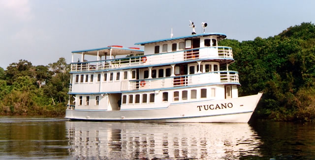 MY Tucano Amazon Cruise