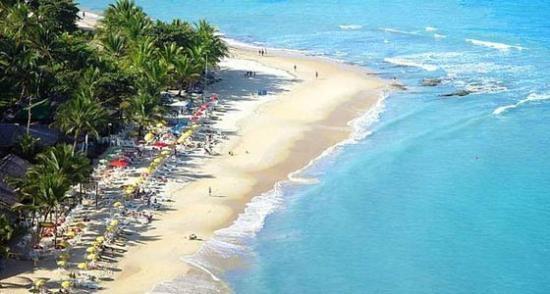 Praia Mucuge, Arraial D'Ajuda