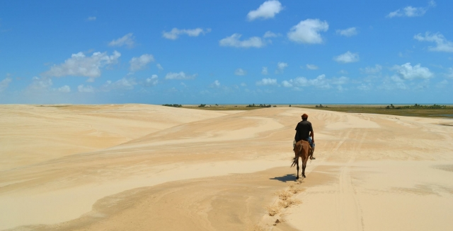 Horse-Riding in the Lençois Maranhenses National Park close to Atins