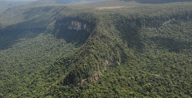 Mount Caburai, the Northernmost Point of Brazil