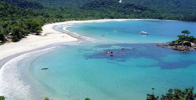 Praia dos Castelhanos; Ilhabela